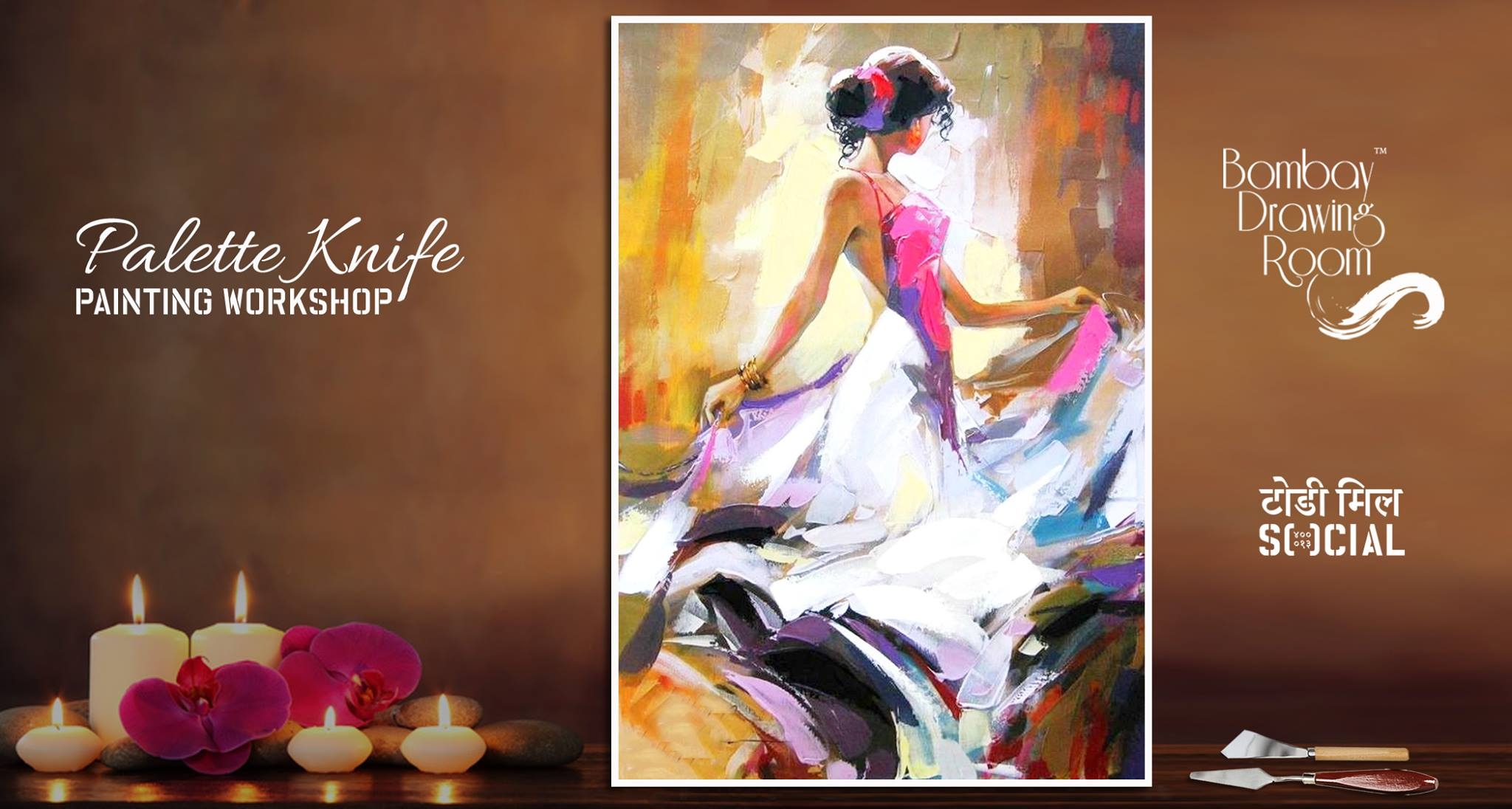 Palette Knife Painting Workshop Youngbutterfly