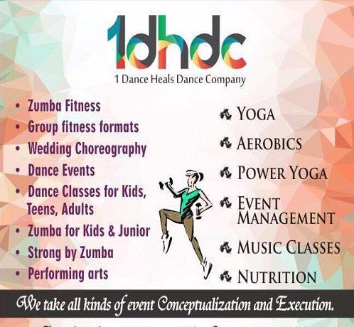 1 Dance Heal Dance Company in Borivali