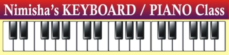 Nimisha's KEYBOARD / PIANO Home Tuitions