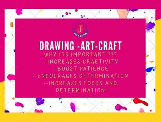 Jack & Jill - Drawing - Art - Craft