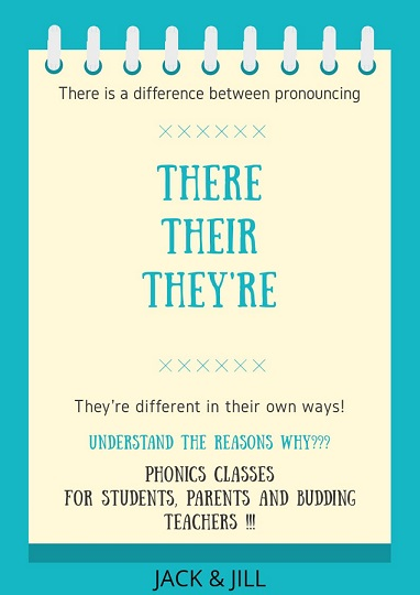 Jack and Jill - Phonics Classes