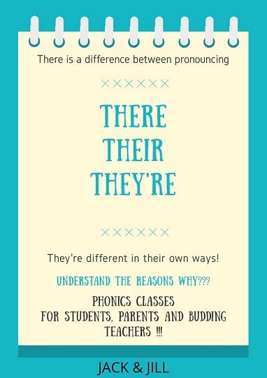 Jack and Jill - Phonics Classes